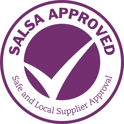 Safe and Local Supplier Approved